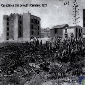 La construction d\'un immeuble coloniale / Ancienne Cimetière Islamique.