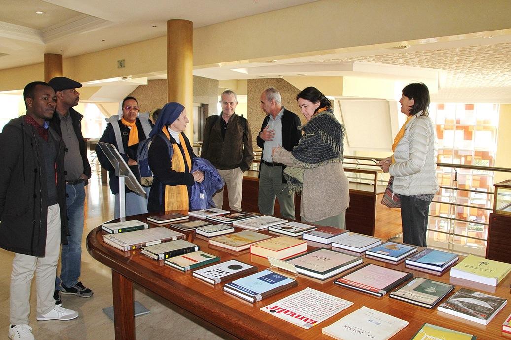 Un groupe d'étudiants de l'ICM (Marseille) visite la Fondation