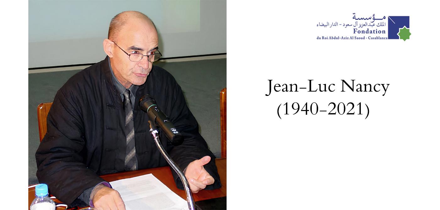 Jean-Luc Nancy (1940-2021)
