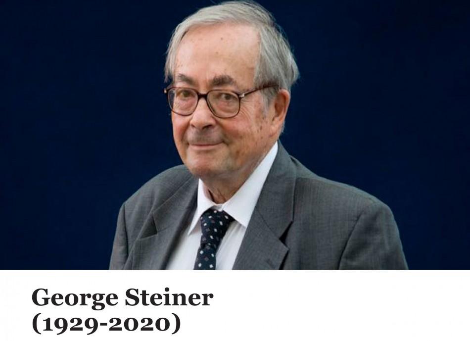 Exposition du mois : George Steiner (1929-2020)