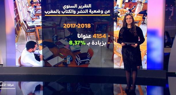 تحليل صحفي لقناة MEDI1TV عن التقرير السنوي حول النشر و الكتاب في المغرب