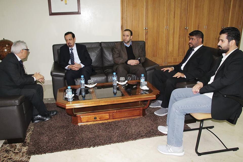 Visite du directeur du Centre du Catalogue Arabe Unifié