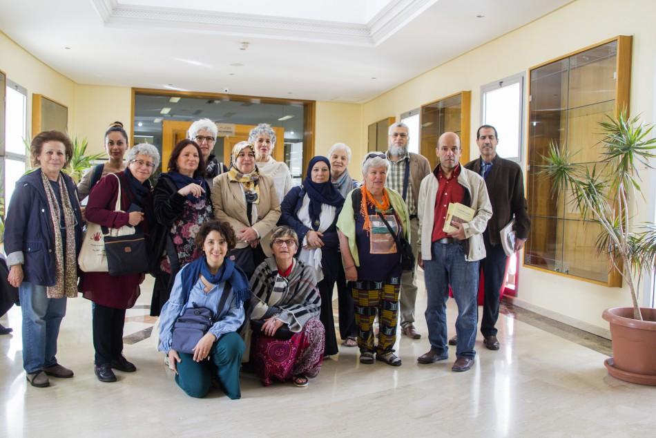 Une délégation italienne constitue  de chercheuses en études religieuses a visité la Fondation le mardi 26 mars 2019