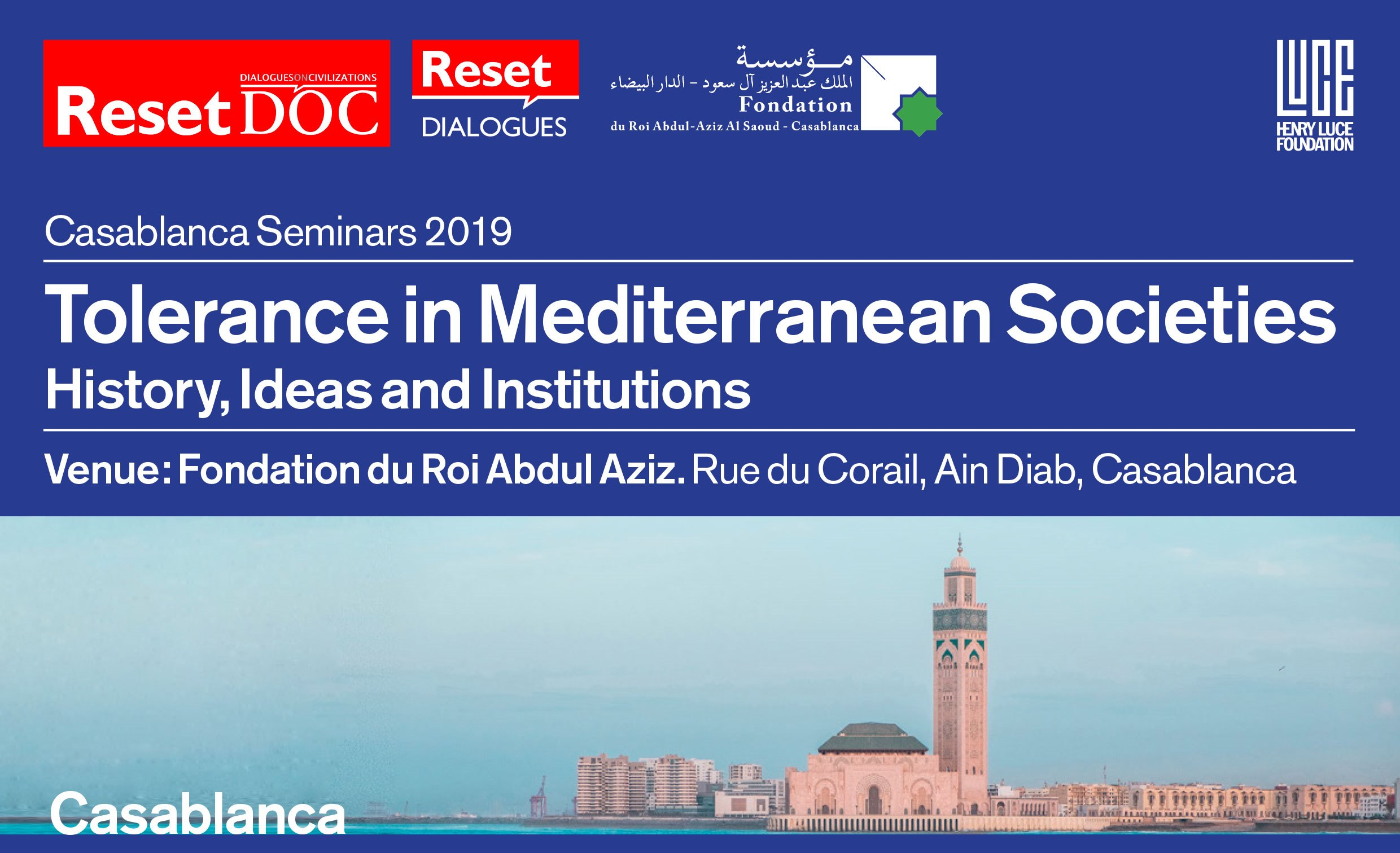 Tolerance in Mediterranean Societies History, Ideas and Institutions