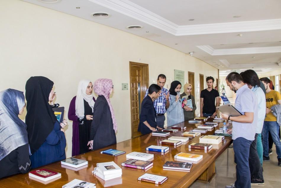 Le mardi 16 juillet 2019, la bibliothèque de la Fondation a reçu la visite d'un groupe d'étudiants turcs de l'Université Ibn Khaldoun à Istumbul qui sont présents au Maroc dans le cadre d'un partenariat avec l'Université Mudiapolis (Nouaceur).