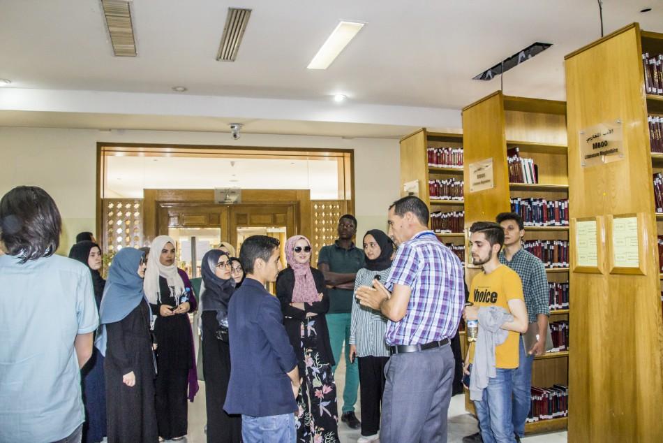 زيارة مجموعة من طلبة جامعة ابن خلدون بإستنبول