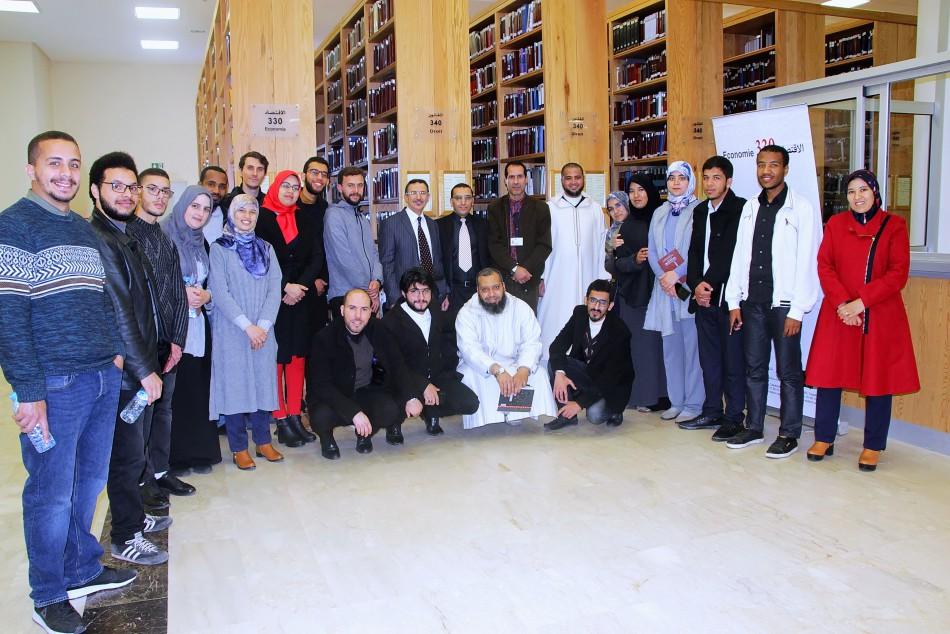 زار المؤسسة مجموعة من طلبة ماستر الفكر الإسلامي والمشترك الإنساني
