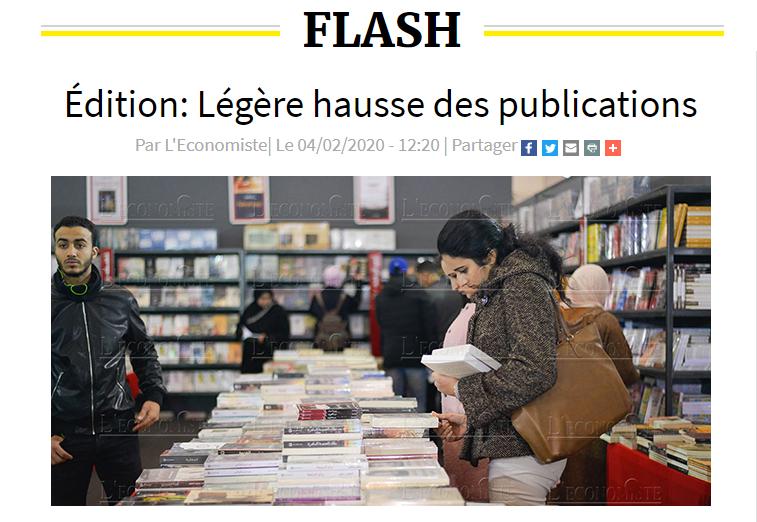 L\'Economiste | Édition: Légère hausse des publications