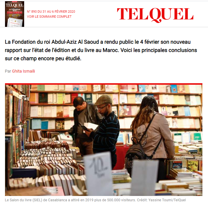 TELQUEL | Prédominance de l'arabe et hausse des prix... Regards sur l'édition au Maroc