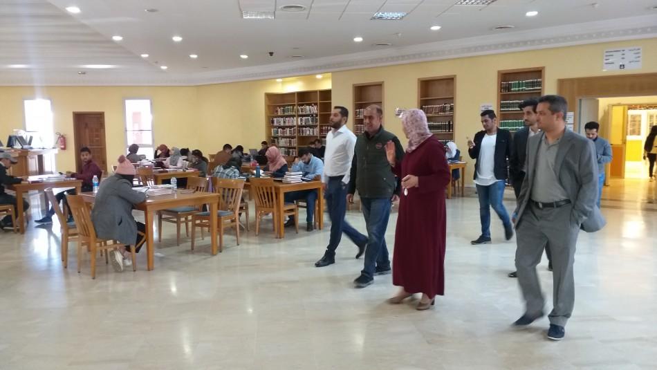 زيارة رئيس قطاع المكتبات بوزارة الثقافة السعودية