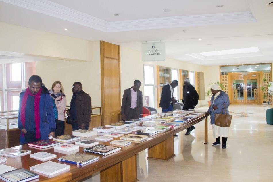 Visite d'un groupe d'étudiants de l'Institut Œcuménique de théologie (Al-Mouafaqa)