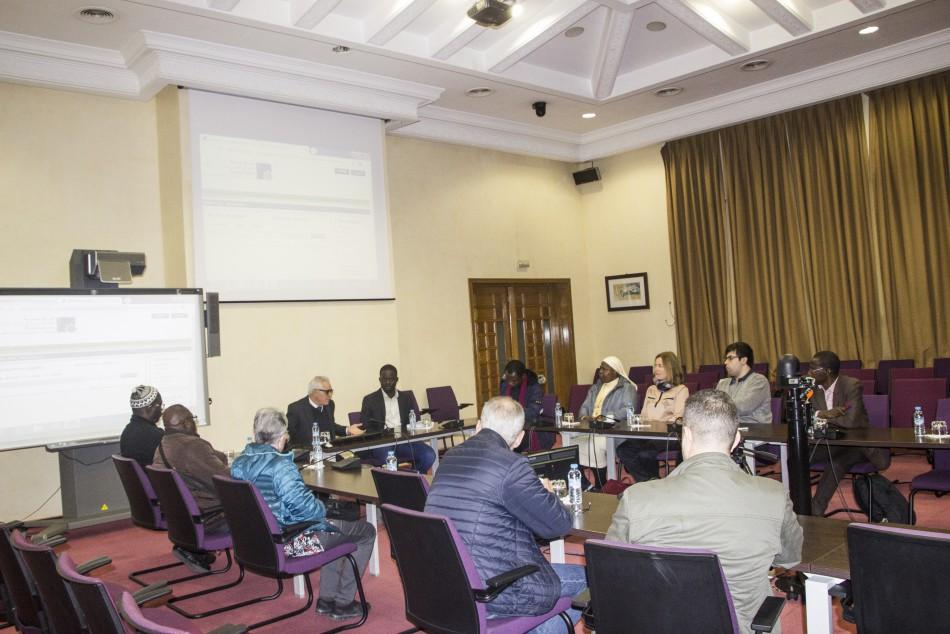 La Fondation a reçu le lundi 10 février 2020 la visite d'un groupe d'étudiants de l'Institut Œcuménique de théologie (Rabat) accompagnés de leur professeur, Dr Seydi Diamil Niane