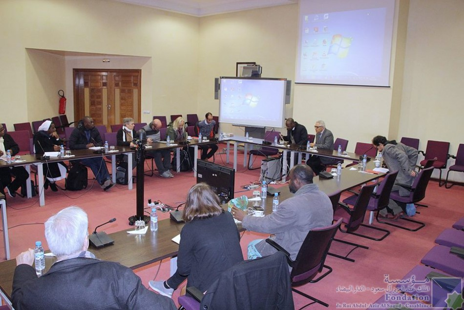 Groupe d'étudiants du Certificat ''l'Islamologie et dialogue inter-religieux '' de l'Institut œcuménique de théologie (al.Mowafaga)