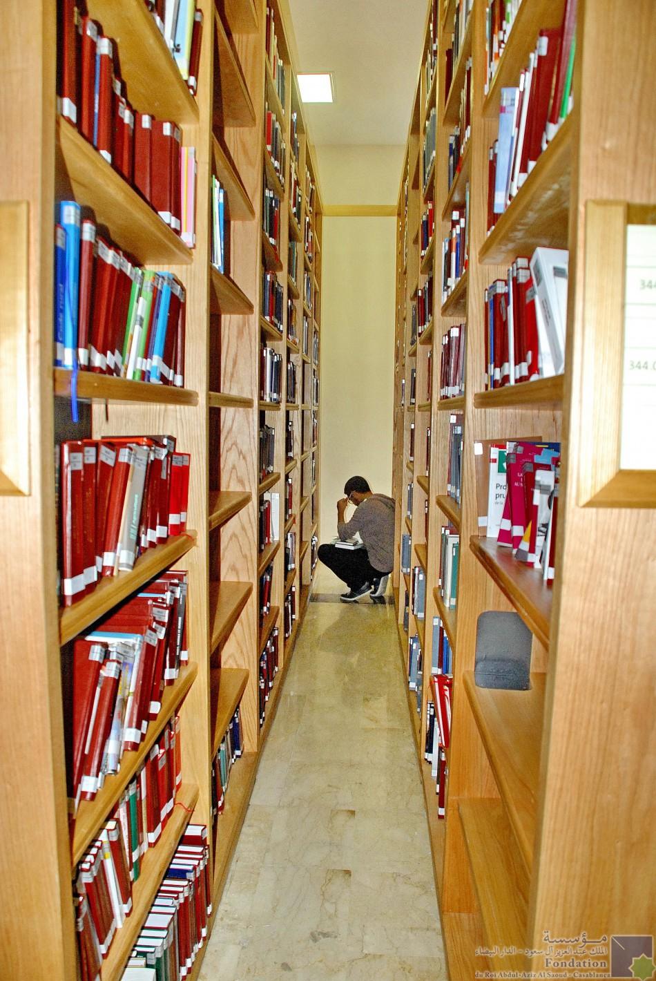 Les étagères à livres