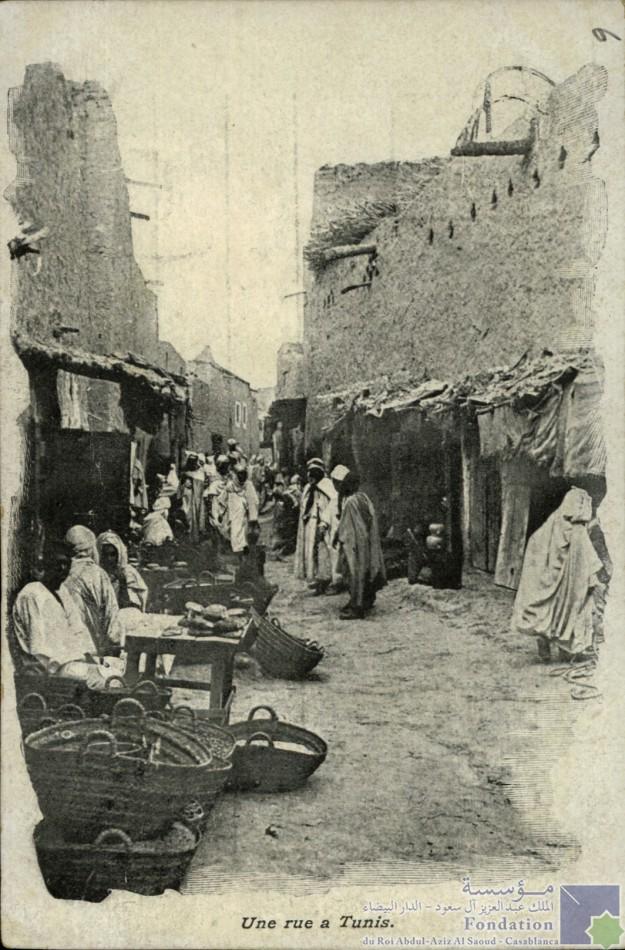 Une rue a Tunis
